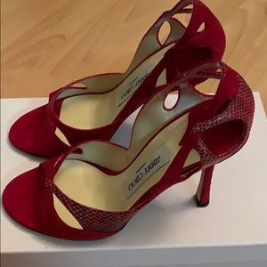 Jimmy Choo Red Heels